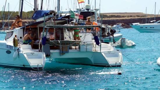Fondear en Cata en Formentera
